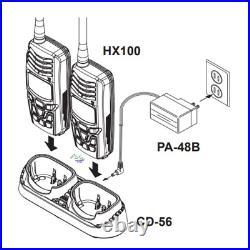 VHF Handheld Portable Marine Radio For Boat & Kayak Waterproof Submersible IPX8