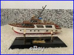 VINTAGE 1960s FOOT LONG NAUTICAL BOAT ANTIQUE OLD TRANSISTOR SHIP RADIO WORKING