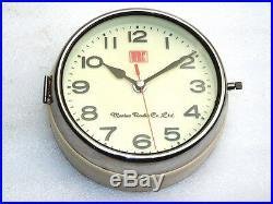 Vintage Marine Radio Japan Ships Marine Navigation Clock Boat Watch