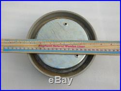 Vintage Weimar Gdr Ships Boat Yacht Quartz Marine Radio Room Clock