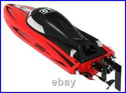 Volantex Racent VECTOR SR65 Brushed Radio Controlled Power Boat RED 65cm