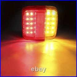 WIRELESS MAGNETIC LED TRAILER LIGHTS agricultural tractor farm digger truck boat