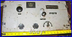 WWII German Kriegsmarine Long Range Radio Enigma Machine U-Boat Submarine Sub