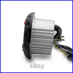 Waterproof Bluetooth FM/AM Radio MP3/USB Player+Marine Boat Car ATV UTV Speakers
