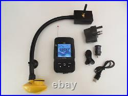 Wireless Bait boat fish finder, 200 metre range, Easy to attach to boats, Carp